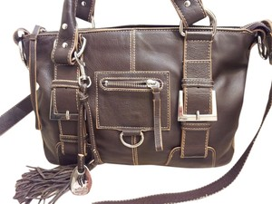Fortuna by Valentino Satchel in Brown