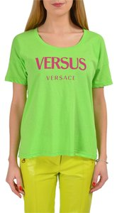 Versace T Shirt Bright Green