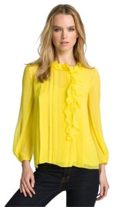 Diane von Furstenberg Top Acid lemon