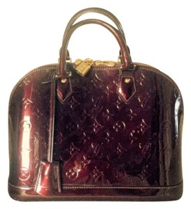 Louis Vuitton Satchel in Burgandy