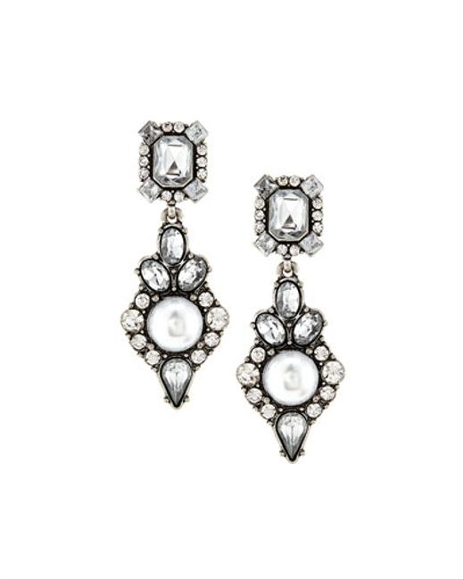 Item - Gray White Black Of with Tags Earrings