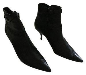 Nine West Vintage Classic Leather Black Boots