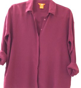 Joe Fresh Button Down Shirt Magenta