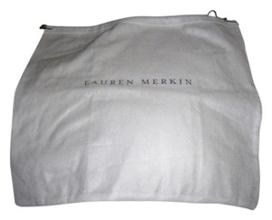 Lauren Merkin New Lauren Merkin Sleeper/ Dust Bag White with Gray Logo!!! Size: 16 inch width 14 inch Length Material: Cotton This is a draw string bag,