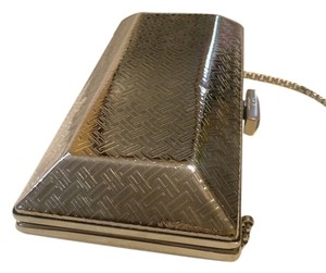 Cole Haan Chain Strap Silver / Metallic Clutch