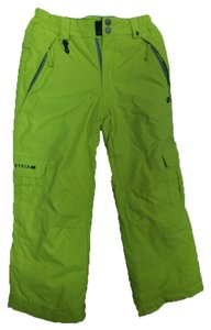 DC Shoes New Waterproofing For Kids Size M Cargo Pants Lime