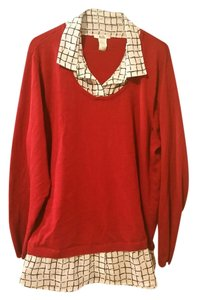 Isela Woman Top Red
