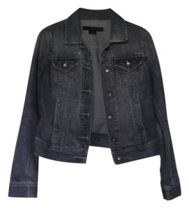 Calvin Klein Denim Blue Jean Denim/blue Womens Jean Jacket