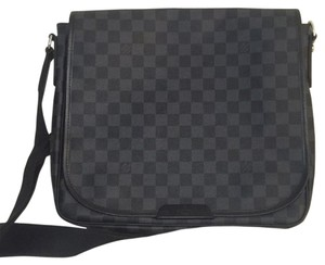 Louis Vuitton Men Messenger Graphite Messenger Bag