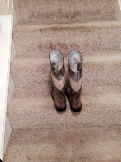 Burberry Rainboots Cute Preppy British Check Boots