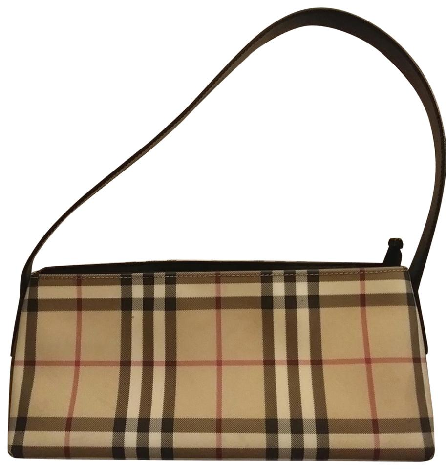 c28541eb8a5e Burberry East West Check Pvc Shoulder Bag - Tradesy