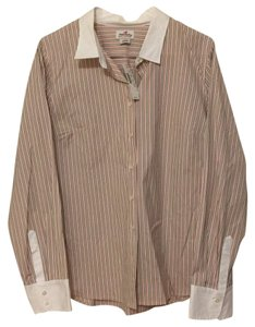 J.Crew Button Down Shirt Multi-Color Striped