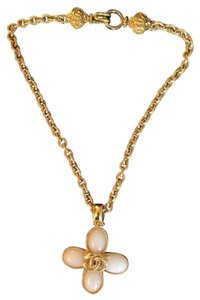 Chanel Vintage Chanel CC Charm Gold Chain Necklace