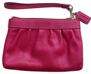 Coach Fuschia/Pink Clutch