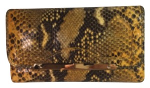 Badgley Mischka Badgley Mischka clutch wallet anaconda all leather