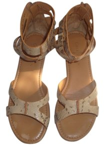 Cole Haan Galdiator Tan Sandals