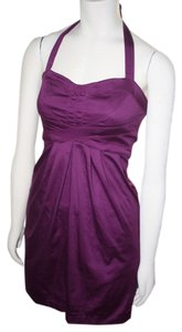 CITY TRIANGLES short dress PURPLE on Tradesy