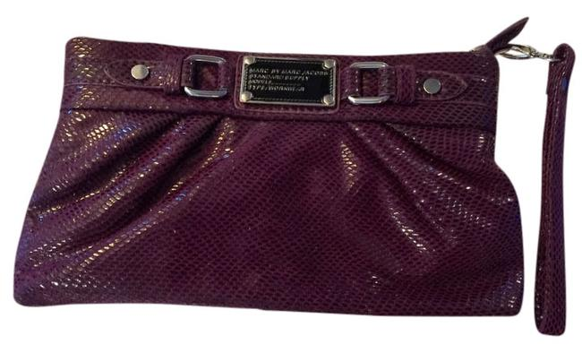 Item - By Purple Leather Clutch
