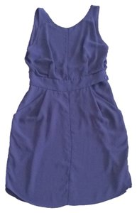 Aritzia short dress Deep plum on Tradesy