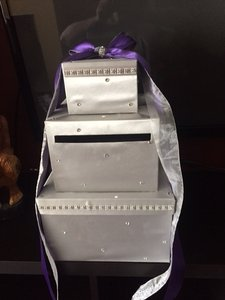 Swarovski Wedding Card Box