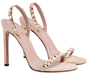 Gucci Nude Suede Formal