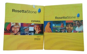 Rosetta Stone spanish course rosetta stone spanish course level 2 & 3 new