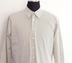 Burberry Pattern Men Dress Shirt