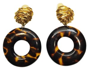 Other Bengal Faux Tortoisehell [ Clip Earrings Roxanne Anjou Closet ]