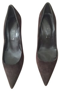 Anne Klein Brown Suede Pumps
