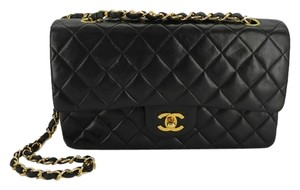 a39097f540ef Chanel 2.55 Double Flap Lambskin Vintage Classic Matelasse France Quilted  Leather Burgundy Lining Shoulder Bag