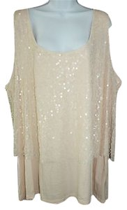 Pure Energy Embellished Top LIGHT PINK