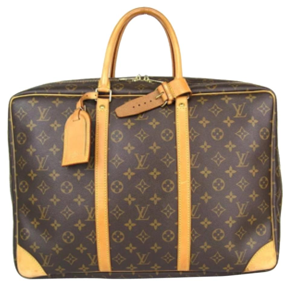 8c419ac12cce Louis Vuitton Lv Sirius Monogram Duffle Keepall Bandouliere Speedy  Neverfull Brown Travel Bag Image 0 ...