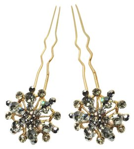 Other Storm Burst Jeweled Hair Forks [ Roxanne Anjou Closet ]