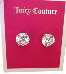 Juicy Couture 100% Authentic Juicy Couture Silver Princess Studs YJRUSE53