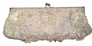 Lulu Townsend Pearl Wedding Ivory Clutch