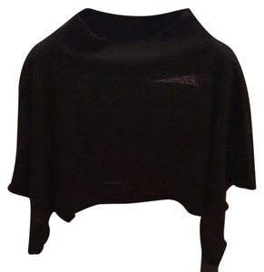 Free People Sweater Top Sheer Cape