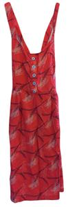 MBD short dress Red Summer on Tradesy