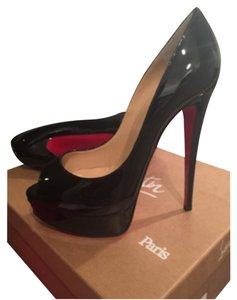 Christian Louboutin Never Worn Brand New Black Patent Pumps