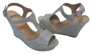 Rampage Size 7.50 M Very Good Condition Silver, Platforms