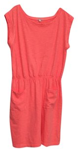 Gap short dress Neon Peach on Tradesy