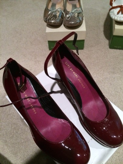 Marc Jacobs Red/raspberry Platforms