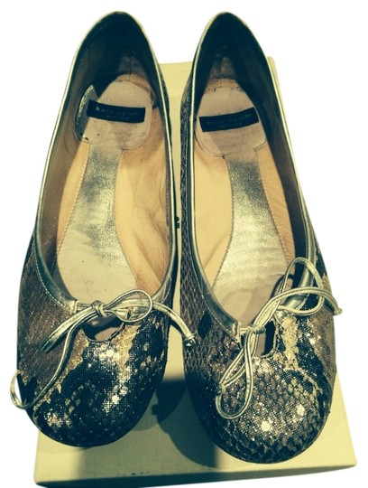 Kate Spade Silver Flats