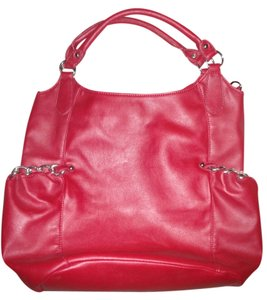 JustFab Tote in Red
