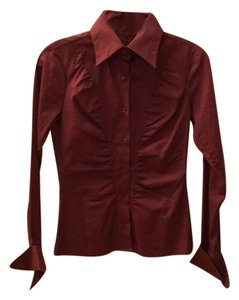 Sisley Button Down Shirt Burgundy
