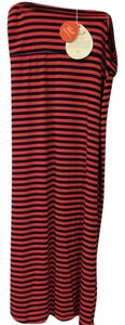 Yala Bamboo Maxi Skirt orange-blue