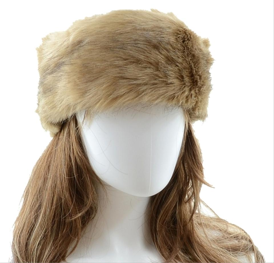 Tan Warm Chic Fur Winter Headband Earmuff Hat - Tradesy 5abf4051f11