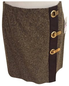 Michael Kors Skirt Brown