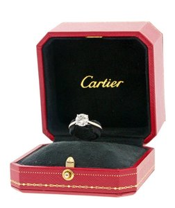 Cartier Cartier 1895 Solitaire Engagement Ring - Platinum Vvs2 H Color 1.37 Carats