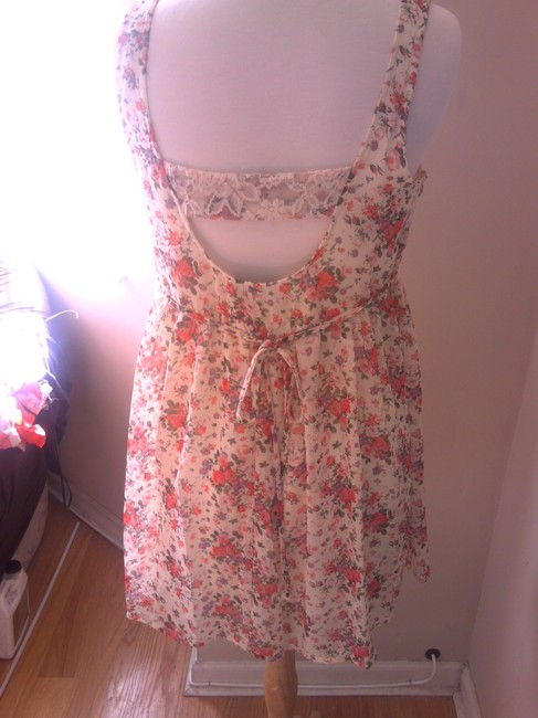 Windsor short dress floral Flowers Flowy Small Lace Lace Polyester Nylon Spandex on Tradesy