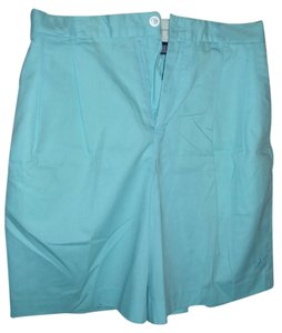 Ralph Lauren Walking Golf Sportswear Pastel Bermuda Shorts blue